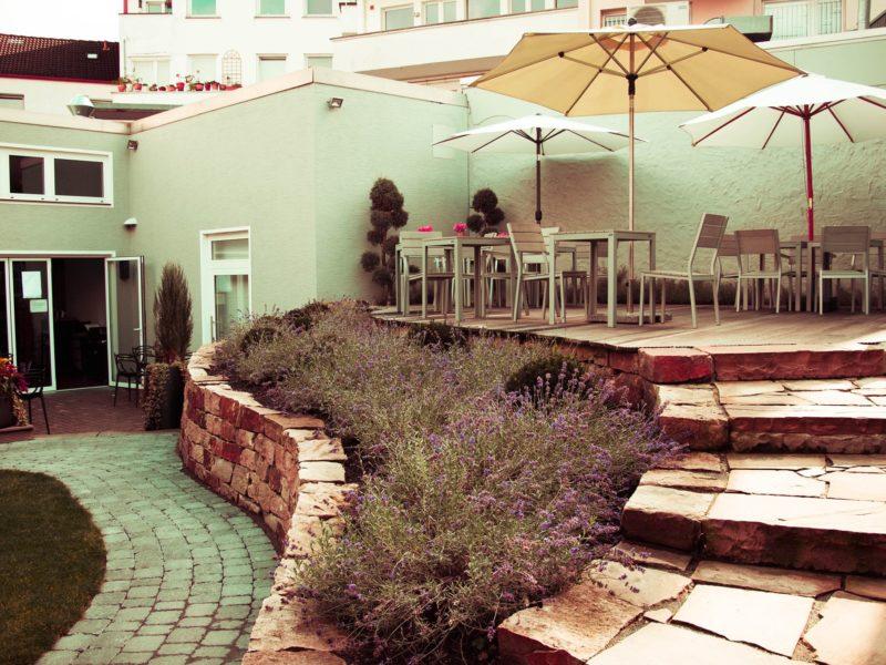 Markt 5 Café Garten