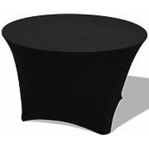 Stretch-Husse Banketttisch schwarz 1,80m