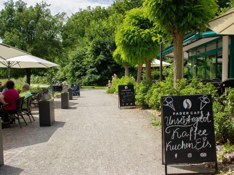 Pader Café Außenbereich